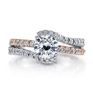 Infinity Engagement RingStyle #: MARS A14