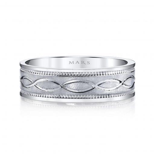 Classic Men's Wedding Band<br>Style #: MARS G106