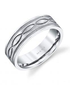 Classic Men's Wedding BandStyle #: MARS G106