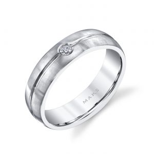 Classic Diamond Men's Wedding BandStyle #: MARS G116