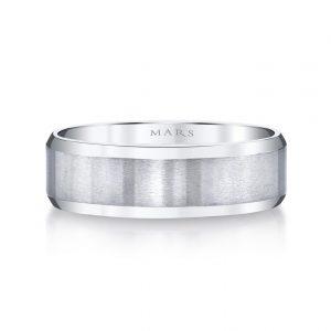 Modern Men's Wedding BandStyle #: MARS G124