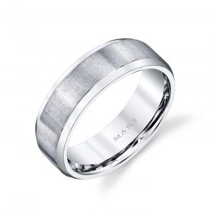 Modern Men's Wedding BandStyle #: MARS G124