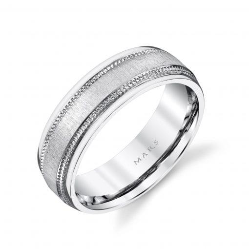 Classic Men's Wedding BandStyle #: MARS G125