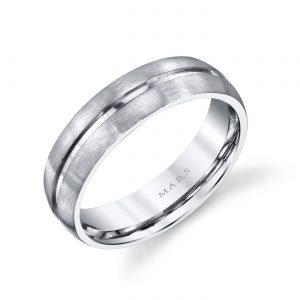 Classic Men's Wedding BandStyle #: MARS G128