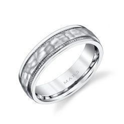 Unique Men's Wedding BandStyle #: MARS G131