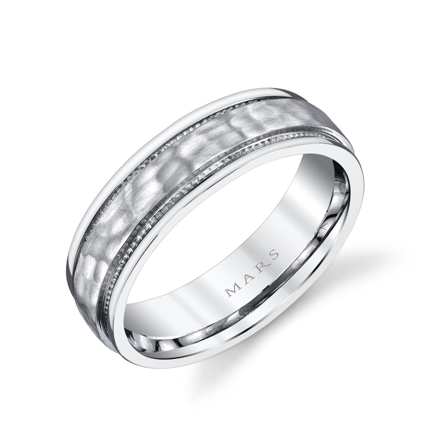 Unique Men's Wedding BandStyle #: MARS G131