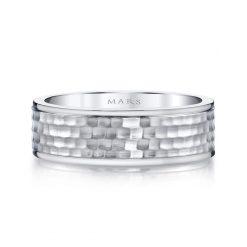 Unique Men's Wedding BandStyle #: MARS G137