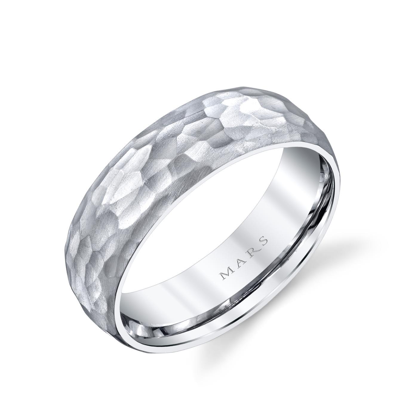 Unique Men's Wedding BandStyle #: MARS G139
