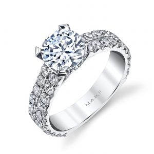 Classic Engagement RingStyle #: MARS R246