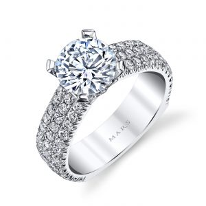 Classic Engagement RingStyle #: MARS R247