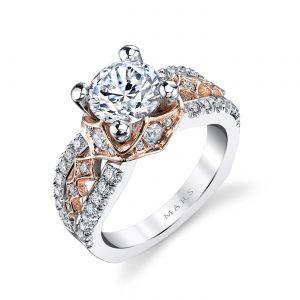 Vintage Engagement RingStyle #: MARS R254WR