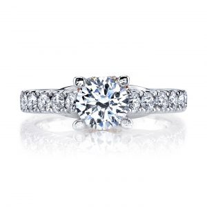 Classic Engagement RingStyle #: MARS R261
