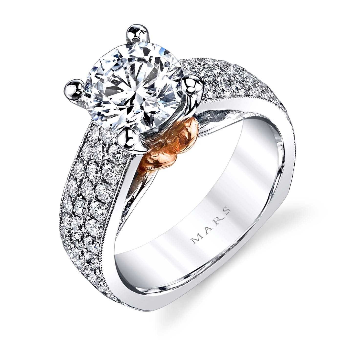 Classic Engagement RingStyle #: MARS R264