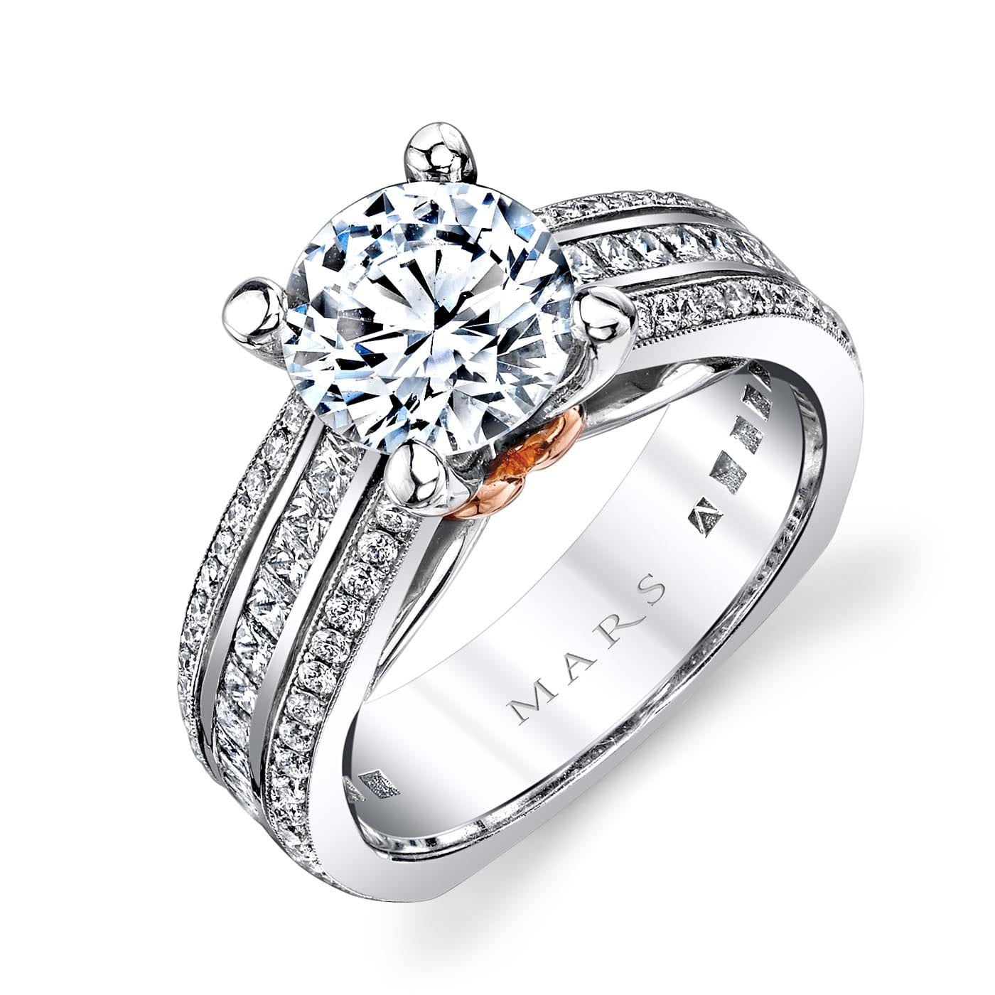 Classic Engagement RingStyle #: MARS R266