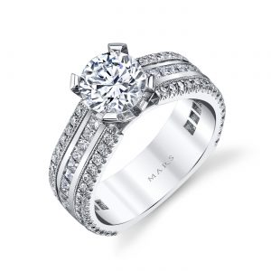 Classic Engagement RingStyle #: MARS R281