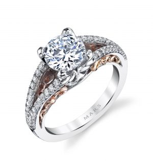Classic Engagement RingStyle #: MARS R293