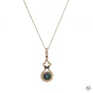 Unique Blue Diamond PendantStyle #: AN-PP238