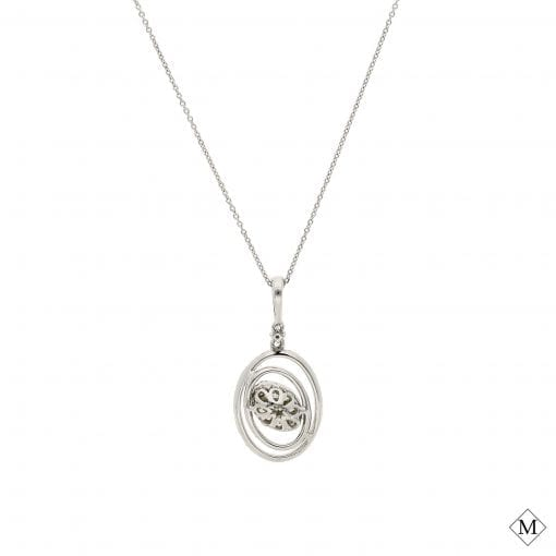 Diamond NecklaceStyle #: AN-PP273
