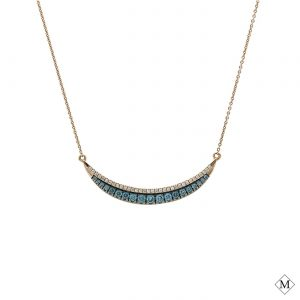 Unique Blue Diamond PendantStyle #: AN-PP339