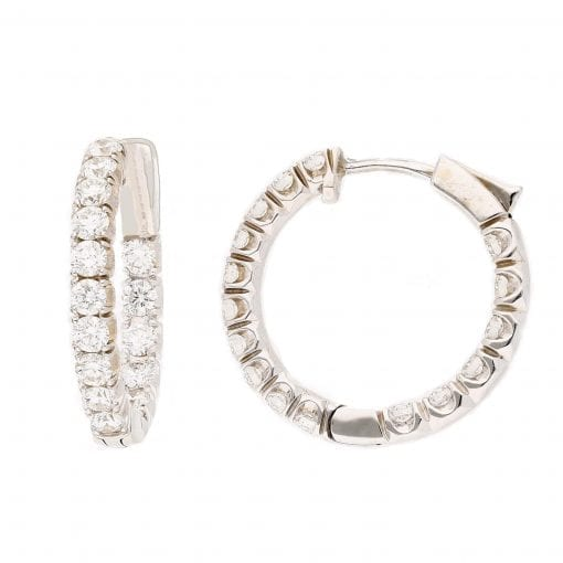Classic Diamond Earrings<br>Style #: MARS-16568
