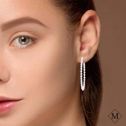 Diamond Earrings<br>Style #: iMARS-24966