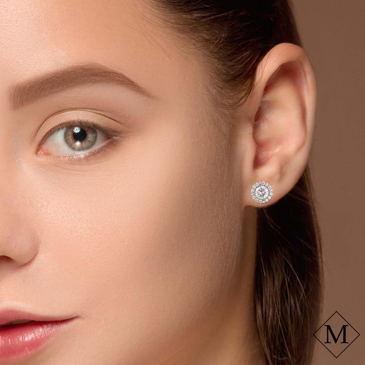 Classic Diamond EarringsStyle #: MD-EAR10000