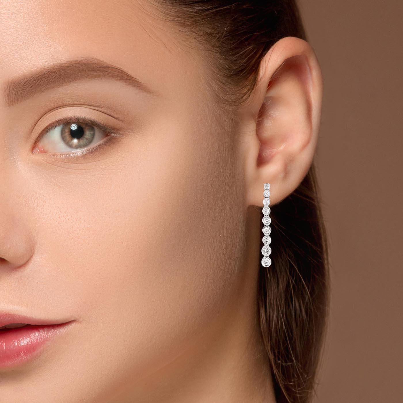 Classic Diamond EarringsStyle #: MD-EAR10003