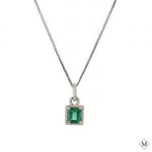 Classic Emerald PendantStyle #: MDPND-962019