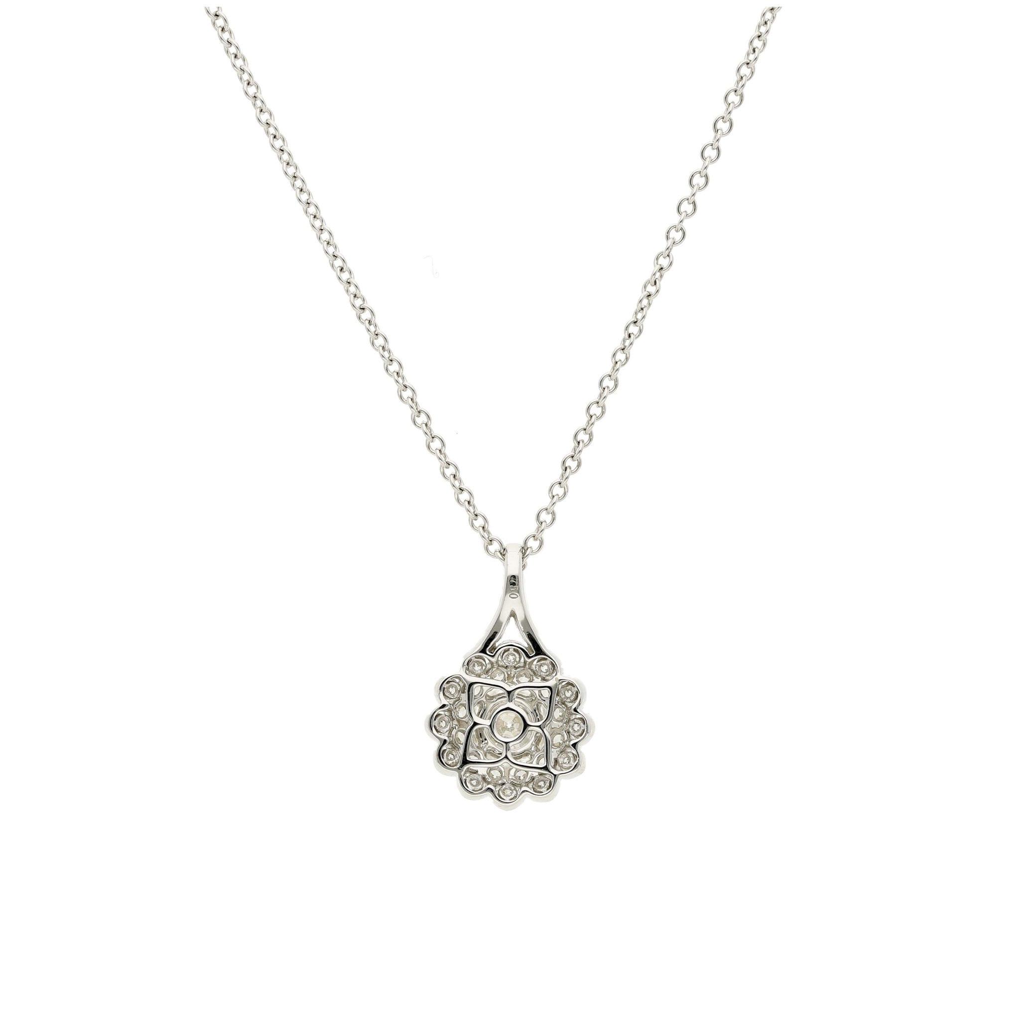Classic Diamond PendantStyle #: MHPND0004
