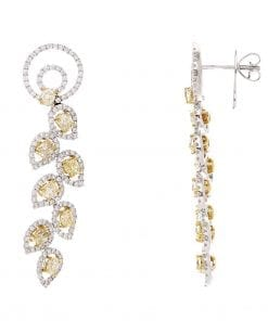 Modern Diamond EarringsStyle #: PD-LQ4464E