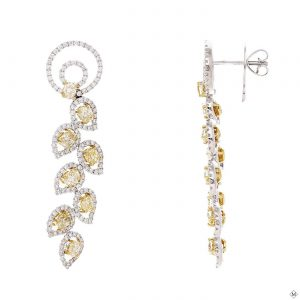 Modern Diamond EarringsStyle #: PD-LQ4464E