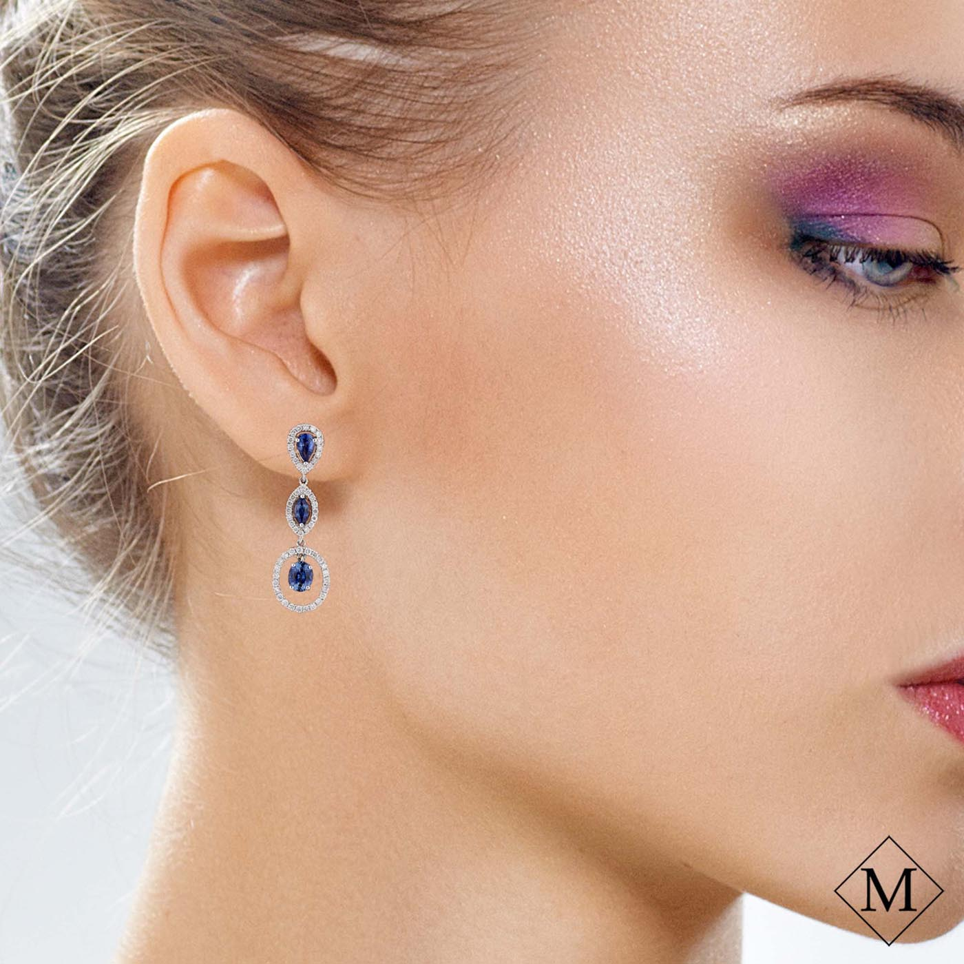 Classic Gemstone EarringsStyle #: PD-LQ5117E