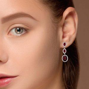 Classic Gemstone EarringsStyle #: PD-LQ5118E