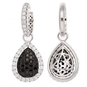 Modern Black Diamond EarringsStyle #: PD-LQ6235E