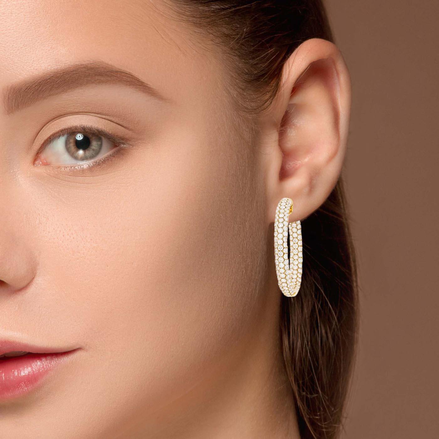 Classic Diamond EarringsStyle #: PD-LQ6485E