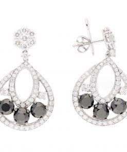 Vintage BK. Diamond EarringsStyle #: PD-LQ6711E