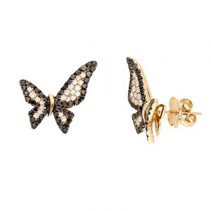 Unique Black Diamond EarringsStyle #: PD-LQ6963E