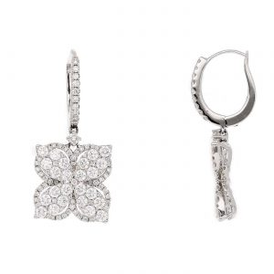 Floral Diamond EarringsStyle #: PD-LQ7174E