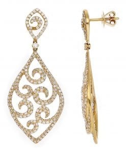 Vintage Diamond EarringsStyle #: PD-LQ7211E
