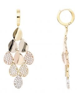 Unique Diamond EarringsStyle #: PD-LQ7356E