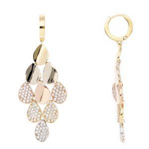 Unique Diamond EarringsStyle #: PD-LQ7356E