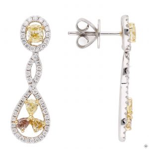 Modern Diamond EarringsStyle #: PD-LQ7598E