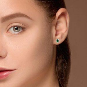 Classic Gemstone EarringsStyle #: PD-LQ8011E