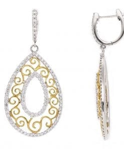 Vintage Diamond EarringsStyle #: PD-LQ8043E
