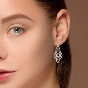 Vintage Diamond EarringsStyle #: PD-LQ8048E