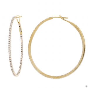 Classic Diamond EarringsStyle #: PD-LQ8093E