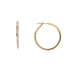Classic Diamond EarringsStyle #: PD-LQ8163E