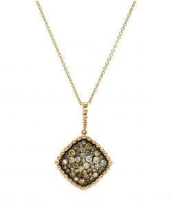 Classic Fancy Diamond PendantStyle #: PD-LQ8271P