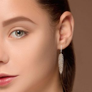 Unique Diamond EarringsStyle #: PD-LQ8326E
