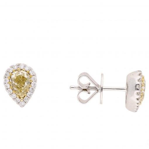 Classic Diamond Earrings<br>Style #: PD-LQ8348E